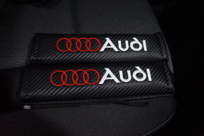 Audi シートベルトパッド シートベルトカバー 1.JPG