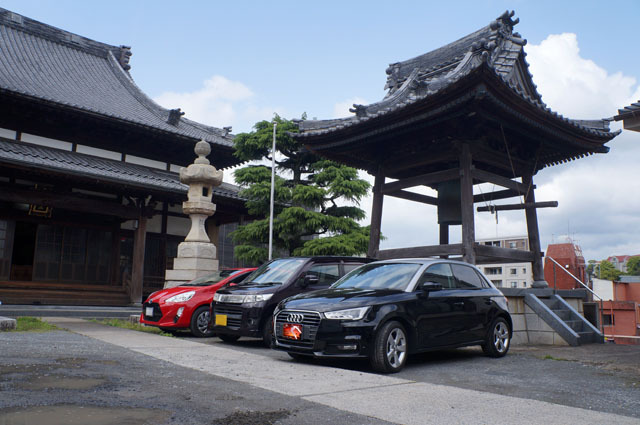 Audi お寺.JPG