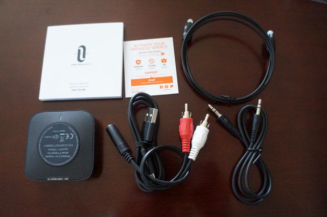 Bluetooth トランスミッター レシーバー TaoTronics (2).JPG