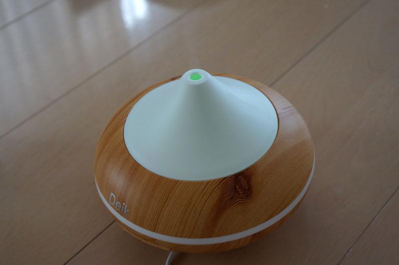 Deik アロマディフューザー 超音波式 アロマ加湿器 6.JPG