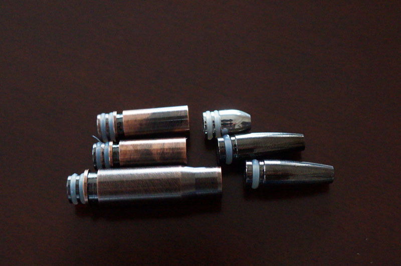 【電子タバコ用ドリップチップ】バレット型ドリップチップ 510型対応 ステンレス製 弾丸 3.JPG