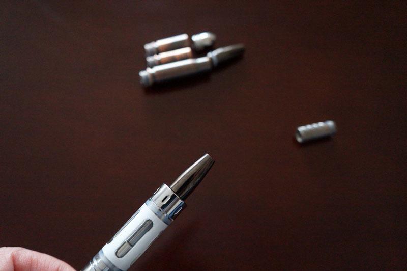 【電子タバコ用ドリップチップ】バレット型ドリップチップ 510型対応 ステンレス製 弾丸 4.JPG