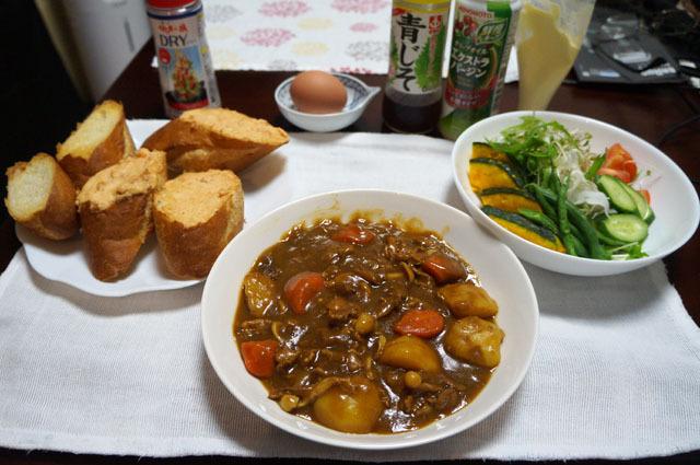 カレー パン サラダ (1).JPG