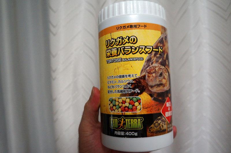 リクガメ専用フード.JPG