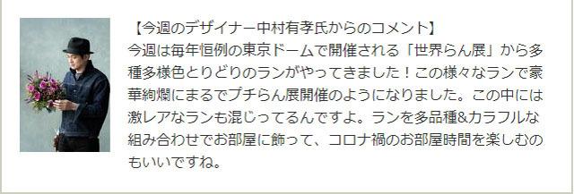 今週のフジテレビ系「めざましテレビ」で紹介されたお花プレゼント! (2).jpg