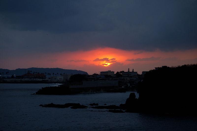 夕焼け 夕陽 2.JPG