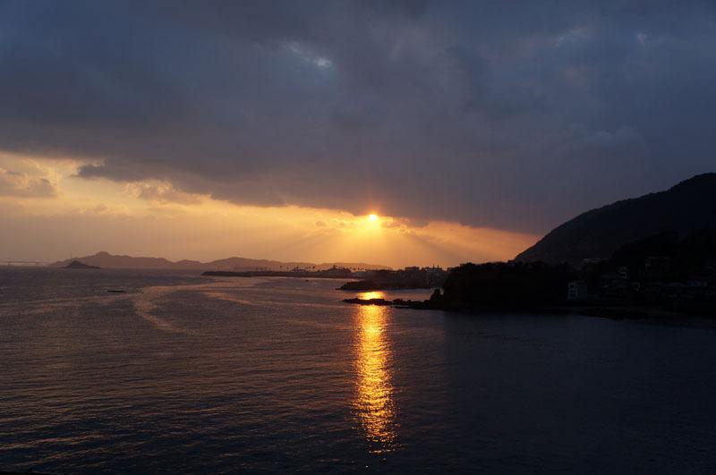 大晦日の夕陽.JPG