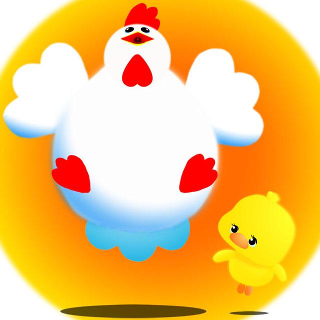 太った鶏&ぴよこ.jpg