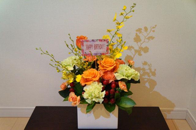 妻へのプレゼントのお花 (4).JPG