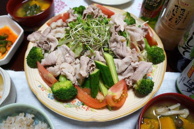 豚肉の冷しゃぶ (2).JPG