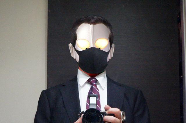 軽量・自然なフィット感のウレタン素材マスク 4枚セット.JPG