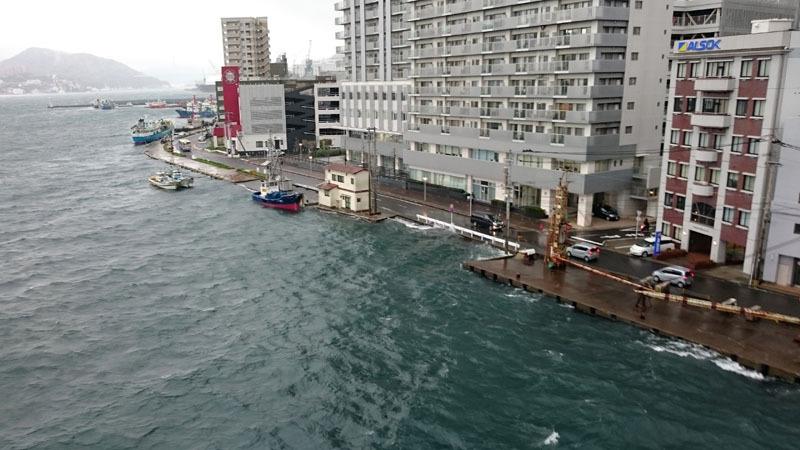 長崎市7日朝、4月の観測史上最大となる29.3メートルの最大瞬間風速 5.JPG