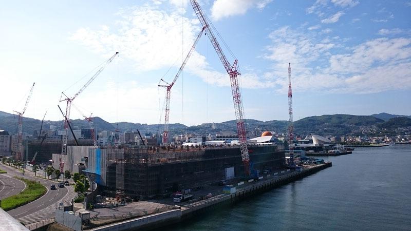 長崎県庁舎建設工事現場2016.7.26.JPG