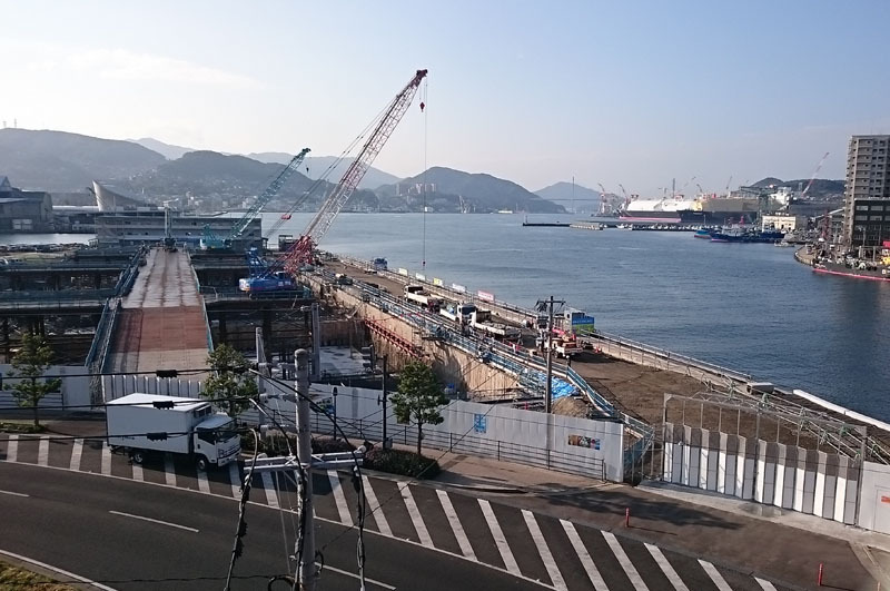 長崎県庁舎建設工事現場 2015.11.10.jpg