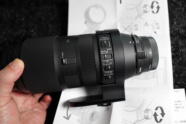 F-Foto 三脚座 for シグマ SIGMA 100-400 mm F5-6.3 DG OS HSM 用 (4).JPG