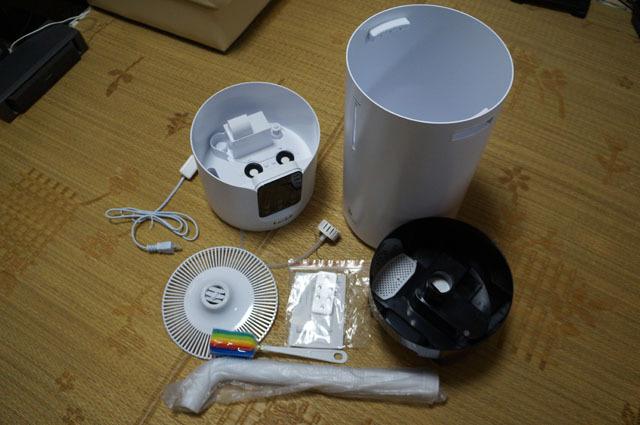 Lacidoll 16L 業務用家庭用 タワー式 超音波加湿器 (5).JPG